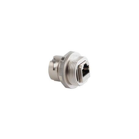 CONEC Acoplador no apantallado CAT5E plástico negro - 17-10019 8,24€