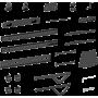 Soporte móvil con ruedas para pantallas grandes VISION VFM-F25 370,00€ product_reduction_percent