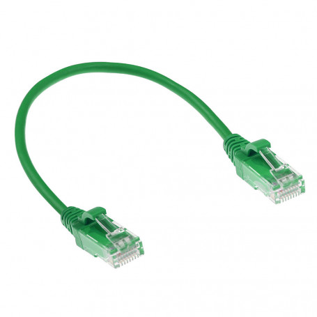CABLE DE RED ETHERNET CAT6 3 METROS U/UTP RJ45 Verde