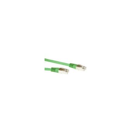 CABLE DE RED ETHERNET CAT6 1 METRO S/FTP RJ45 Verde