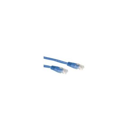 CABLE DE RED ETHERNET CAT5E 15 METROS U/UTP RJ45 Azul