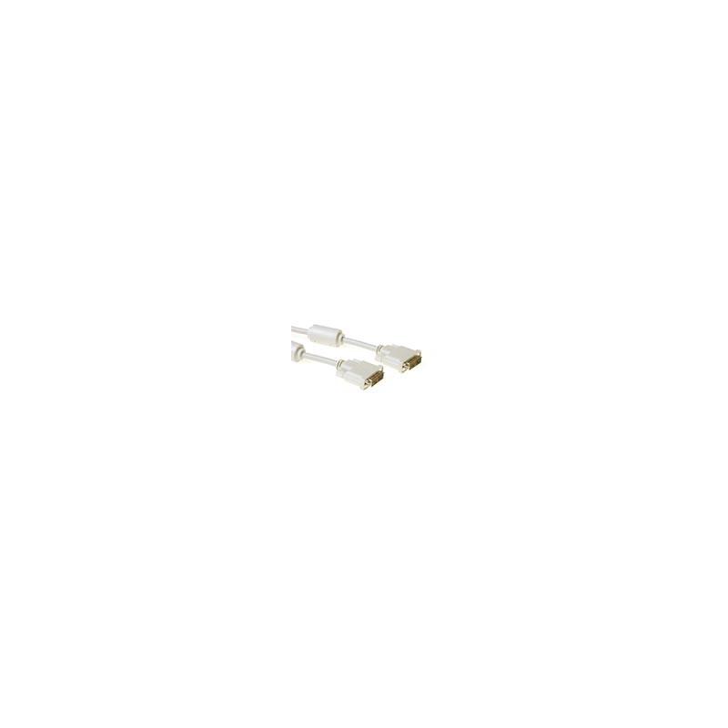 ACT Cable DVI-D Single Link  macho - macho, Alta Calidad  2,00 m - AK3620