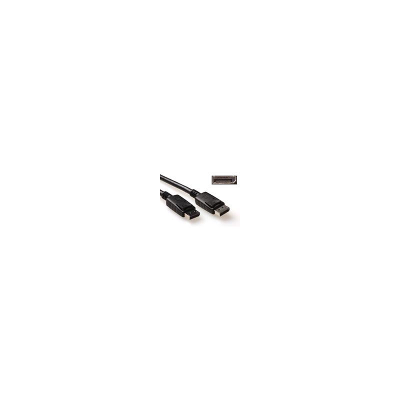ACT Cable de conexión DisplayPort macho - macho  2,00m - AK3980