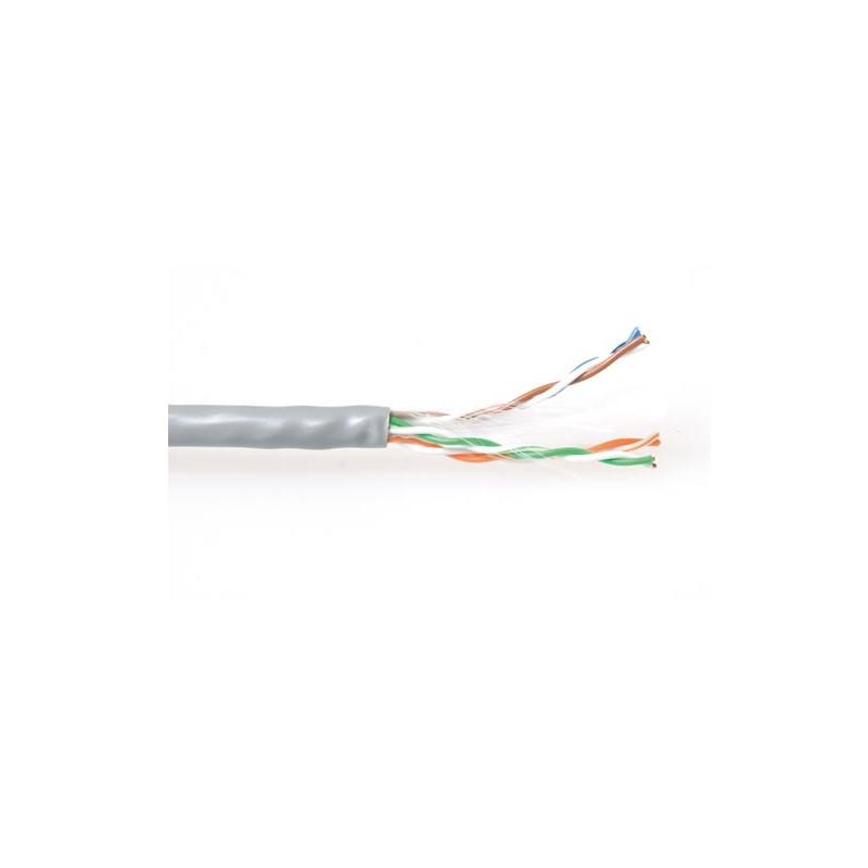 Cable De Red Ethernet CAT6 U/UTP PVC sólido con separador de pares en 305 Metros