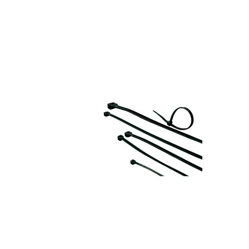 ACT Bridas negras, longitud 203 mm, ancho 4.6 mm - CT1055