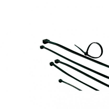 Bridas negras, longitud 203 mm, ancho 4.6 mm