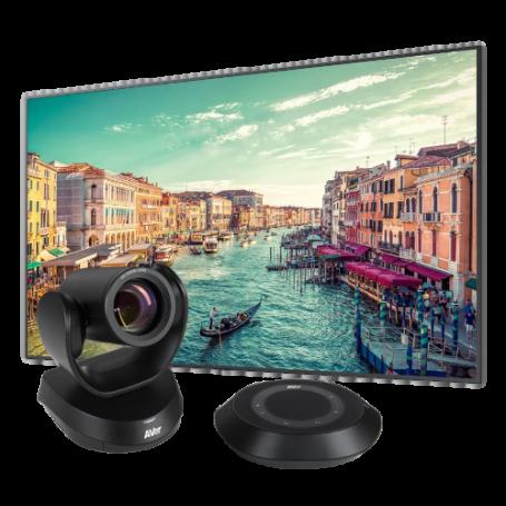"""Kit de Videoconferencia con Pantalla Samsung 82"""" y Cámara de Videoconferencia para Salas Medianas y Grandes 2.816,00€ produc..."""