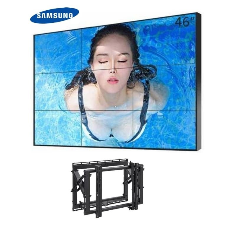 "Video Wall 3x3 Samsung 46"" con Soportes eyectables 11.772,00 € product_reduction_percent"