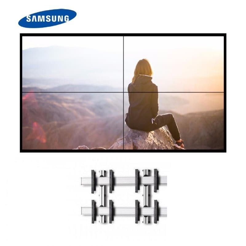 "Video Wall 2x2 Samsung 55"" con Soporte de Pared 5.398,00€ -5%"
