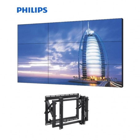 "Video Wall 3x3 Philips 49"" con Soportes eyectables 11.205,00 € product_reduction_percent"