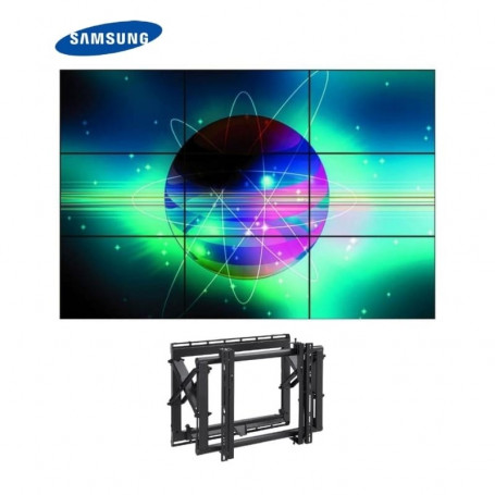 "Video Wall 3x3 Samsung 55"" con Soportes eyectables 14.607,00 € product_reduction_percent"