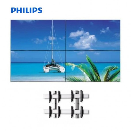 "Video Wall 2x2 Philips 49"" con Soporte de pared 5.247,48€ product_reduction_percent"