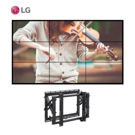 """Video Wall 3x3 LG 55"""" con Soportes eyectables 12.744,00€ product_reduction_percent"""