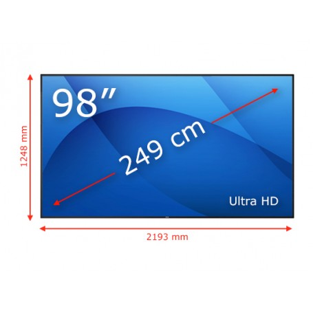 Pantalla Gran Formato 98'' Philips 98BDL4150D 6.780,00€ product_reduction_percent