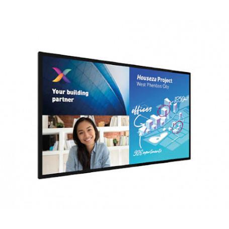 """Philips 86BDL6051C/00 pantalla de señalización Panel plano interactivo 2,17 m (85.6"""") 4K Ultra HD Negro Procesador incorporad..."""