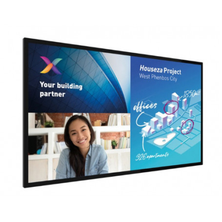 "Pantalla Interactiva Philips 65BDL8051C/00 pantalla de señalización 165,1 cm (65"") 4K Ultra HD Negro Android 9.0 7.072,52€"
