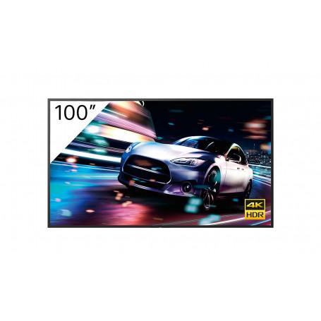 "Pantalla Gran Formato Sony FW-100BZ40J pantalla de señalización Pantalla plana para señalización digital 2,54 m (100"") VA 4K ..."