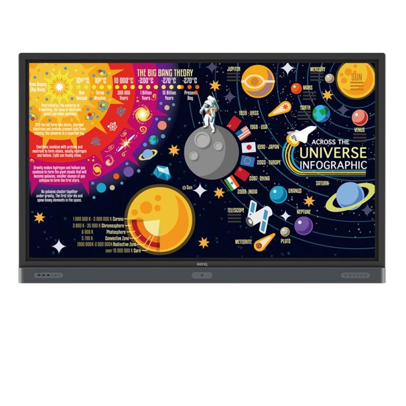 "Pizarra Táctil Interactiva de 75"" BenQ RM7502K para Educación 2.052,80€ product_reduction_percent"