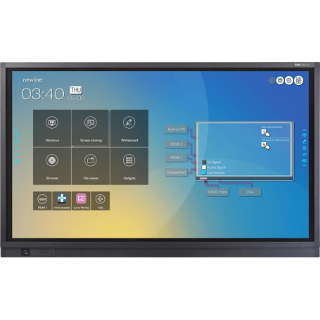 "Pizarra Táctil Interactiva de 75"" Newline Trutouch TT-7519RS para Educación 1.640,00 € product_reduction_percent"
