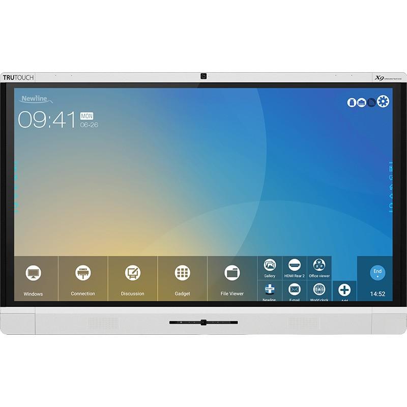 """Monitor Táctil Interactivo de 75"""" Newline Trutouch X8 para Videoconferencia y Colaboración"""