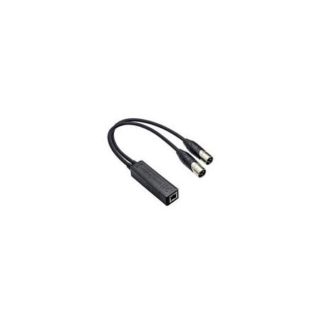 Amphenol Adaptador dual channel Amphe-Dante - RJD1212-0050 229,61€